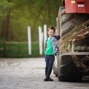 Vijf tips voor mooie onscherpe achtergronden © portret, kind, buiten