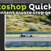 Hoe gebruik je content aware crop? | Photoshop Quick Tip © thumbnail, photoshop, quick tip