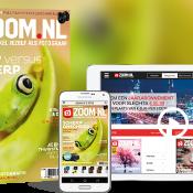Maak je eigen thuisstudio met het nieuwe Zoom.nl magazine + alles over scherpte, trouwfotografie en lente © zoom, magazine, nieuw