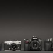 Welke camera moet je kopen, wat zijn de verschillen tussen camera's? Compactcamera - Systeemcamera - Spiegelreflexcamera © camera, verschil, grootte