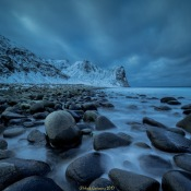 Hoe bescherm je je camera tegen de kou? © sneeuw, ijs, blauw