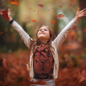 De vijf mooiste soorten omgevingslicht © licht, boven, bos, herfst