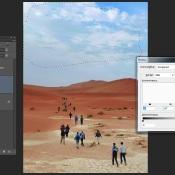 Photoshop: Lucht aanpassen © Photoshop, quickstart, lucht, lagen