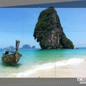 Photoshop Elements: rechtzetten, bijsnijden en schalen © Photoshop, Elements, schalen, uitsnijden, rechttrekken