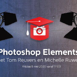 Schrijf je nu in voor de gratis Zoom Academy Live - Photoshop Elements - aanstaande vrijdag