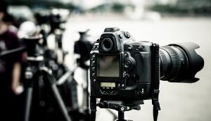 Samsung monitor - filmen spiegelreflex